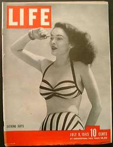 Life Magazine July 9, 1945 - Cover: Bathing Suits