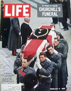 Life Magazine February 5, 1965 -- Cover: Winston Churchill's Funeral