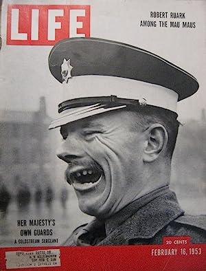 Life Magazine February 16, 1953 -- Cover: