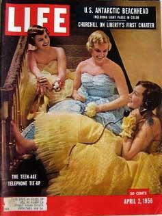 Life Magazine April 2, 1956 -- Cover: