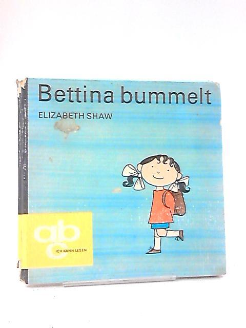 Bettina Bummelt: Elizabeth Shaw