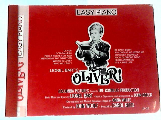 Lionel Bart's Oliver Easy Piano - Lionel Bart