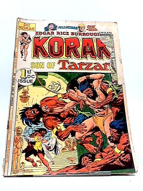 KORAK SON OF TARZAN Vol.9 Numero 46: Edgar Rice Burroughs