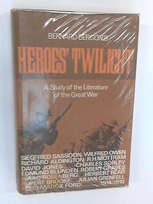 Heroes' Twilight: Bernard Bergonzi