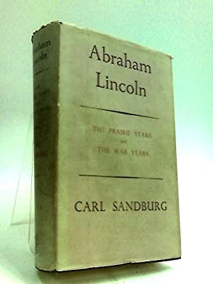 CARL SANDBURG ABRAHAM LINCOLN THE WAR YEARS 4 VOL 1st ED 1939 Upside-down vol. 4