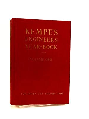 Kempe's Engineers Year-book Vol One for 1976: C. E. Prockter