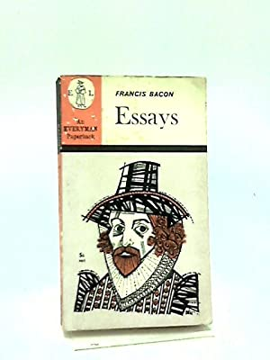 essays of francis bacon book Results 1 - 16 of 72 the essays or counsels, civil and moral by francis bacon - delphi classics ( illustrated) (delphi parts edition (francis bacon) book 1) 12 september 2017 by francis bacon and delphi classics.
