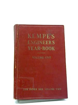 Kempe's Engineers Year-Book For 1975 - 80Th: CE. Prockter