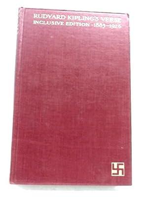 Rudyard Kipling's Verse Inclusive Edition, 1885-1926: Rudyard Kipling