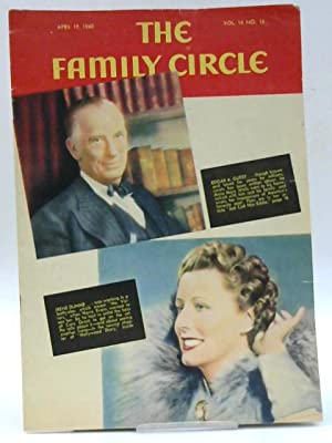 The Family Circle, Vol. 16, No. 16,: Harry H. Evans