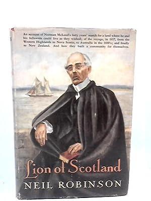Lion of Scotland: Neil Robinson