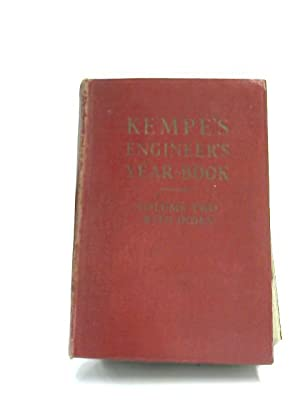 Kempe's Engineer Year-Book for 1952, Volume 2: B. W. Pendred