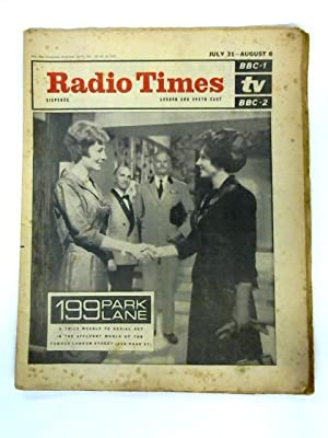 Radio Times, London and South East, July 31st - August 6th 1965