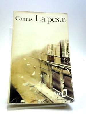 La peste: Camus, Albert
