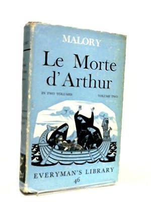Le Morte d'Arthur Volume Two: Sir Thomas Malory