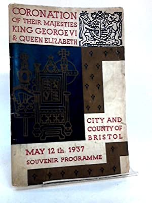 Coronation of their Majesties King George vi: Unknown