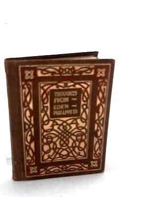 Thoughts from Eden Phillpotts [Sesame Booklet No.55]: Phillpotts, Eden