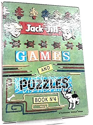 Jack and Jill Games and Puzzles Book: Various