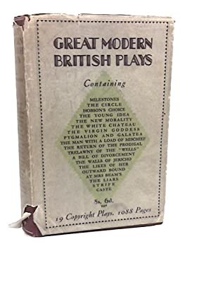 Great Modern British Plays: Marriott, J.W (Selected