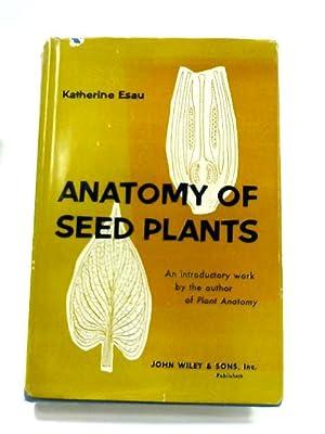 Plant Anatomy By Katherine Esau Abebooks
