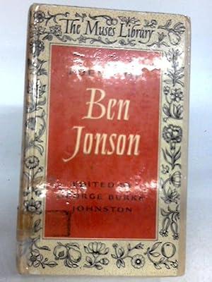 Poems of Ben Johnson: Ed. George Burke
