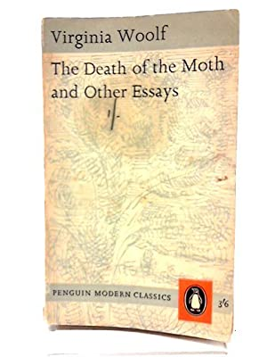 death of moth other essays abebooks the death of the moth and other virginia woolf
