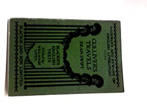 Gulliver's Travels (Blackie's English Texts): Dean (Jonathan) Swift