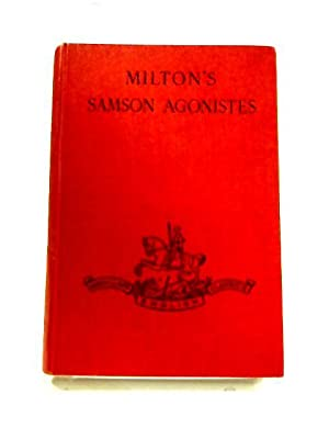 Samson Agonistes: John Milton