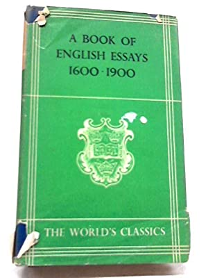 english essays    abebooks a book of english essays  s v blackwell