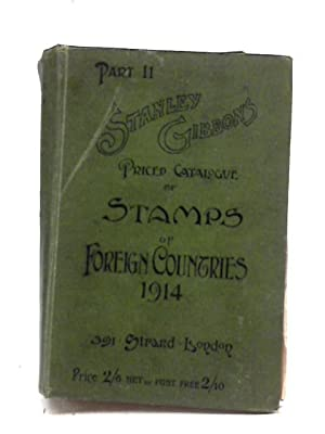Stanley Gibbons Priced Catalogue of Stamps of: No Author Stated