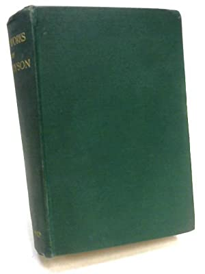 The Works of Alfred Lord Tennyson, Poet: Tennyson