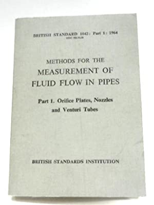 Methods For The Measurement Of Fluid Flow: Anon