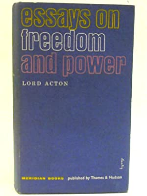Dalberg Acton Freedom Abebooks