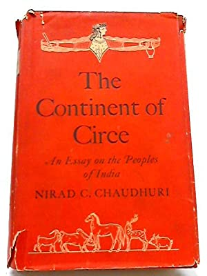Continent of Circe: Essay on the Peoples of India