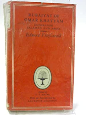 Rubaiyat of Omar Khayyam Euphranor Salaman and: Edward Fitzgerald