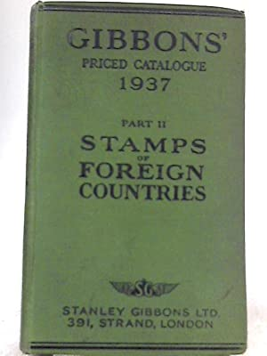 Priced Catalogue of Stamps Part II Foreign