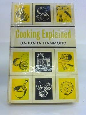 Cooking Explained: Barbara Hammond
