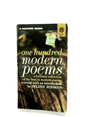One Hundred Modern Poems: Selden Rodman (Ed.)