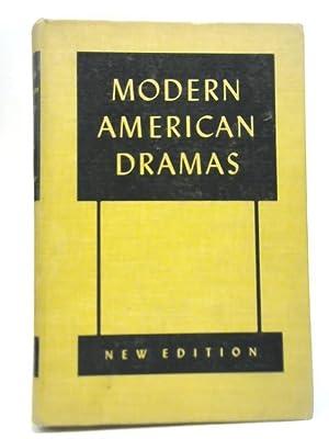 Modern American Dramas: Harlan Hatcher