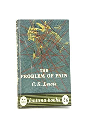 Problem Of Pain: C S Lewis