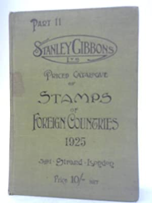 Stanley Gibbons, Limited Priced Catalogue of Stamps: Unknown