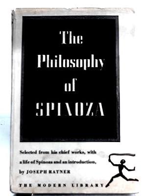 The Philosophy of Spinoza: Joseph Ratner