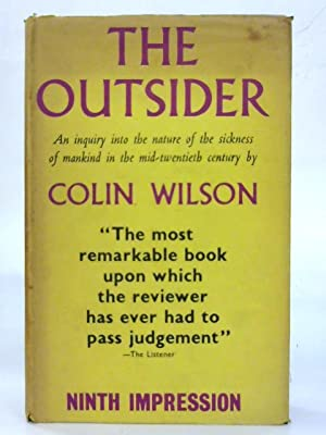 The Outsider.: Colin Wilson