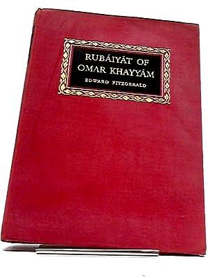 Rubaiyat of Omar Khayyam: Trans. edward fitzgerald