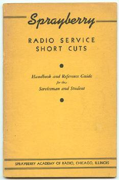 Sprayberry Radio Service Short Cuts: Handbook and: Sprayberry Academy of