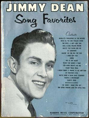 Jimmy Dean Song Favorites.: Dean, Jimmy.