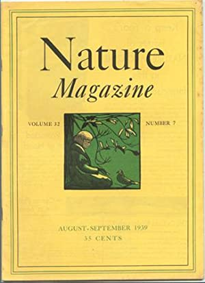 Nature Magazine; August-September 1939; Volume 32; No: American Nature Association.