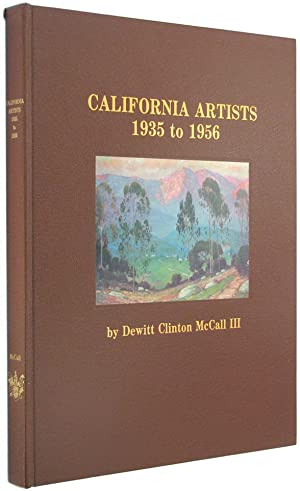 California Artists, 1935 to 1956.