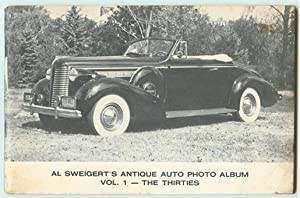 Al Sweigert's Antique Auto Photo Album, Volume: Sweigert, Al.