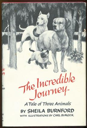 The Incredible Journey.: Burnford, Sheila.